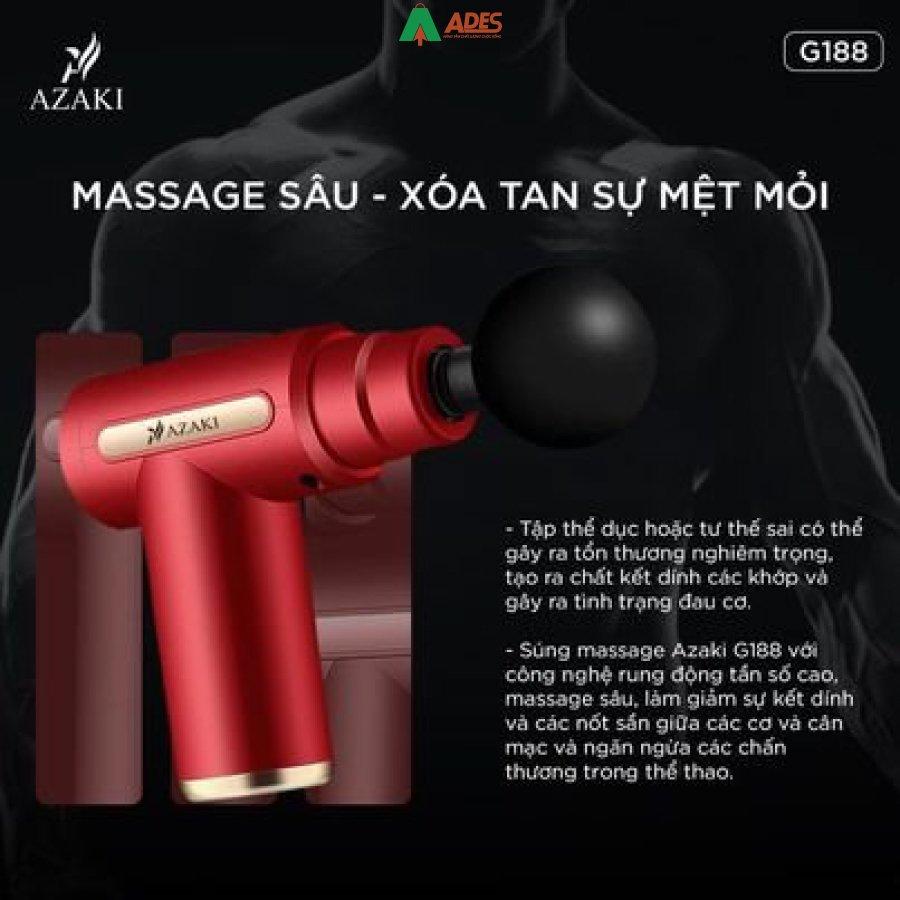 May Massage Azaki G188 tinh te